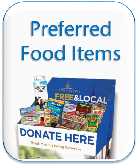 When In Doubt Look To Our Preferred Food Items List Know What Healthy Foods Donate