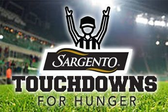 Sargento teaming up with Packers for Touchdowns for Hunger program