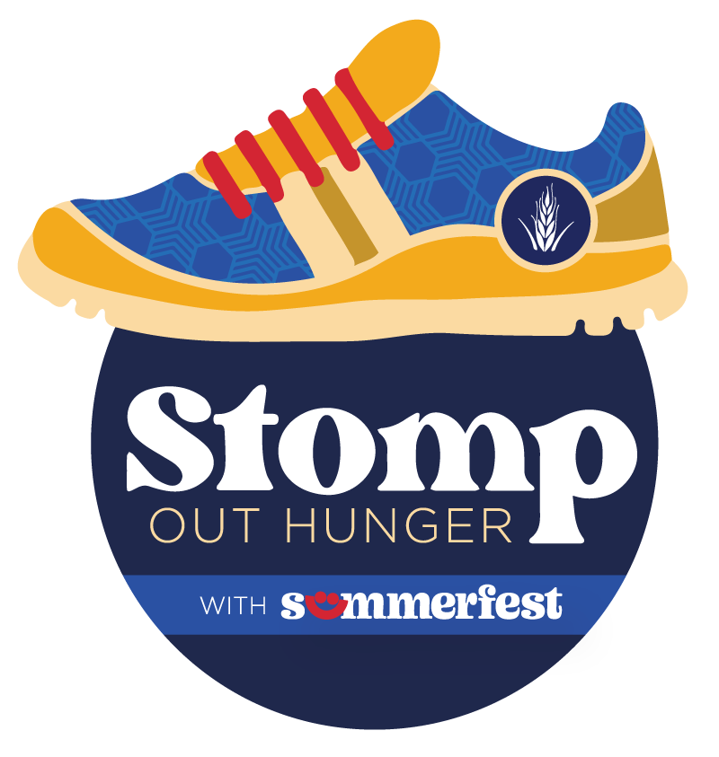 Stomp Out Hunger Logo