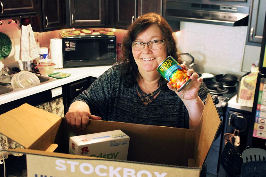 Stockbox DoorDash eases hardship of grocery shopping for Milwaukee senior